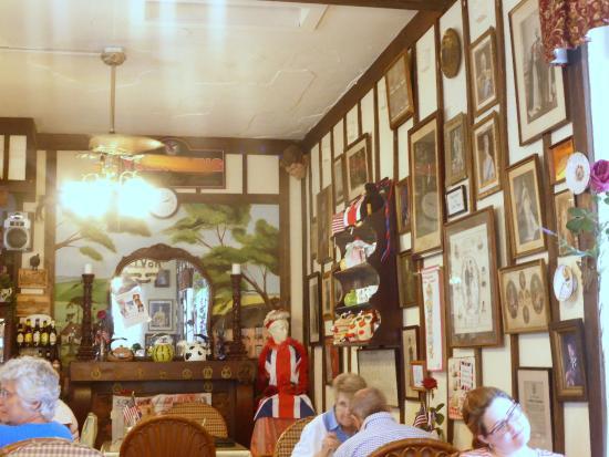 Windsor Rose Tea Room Restaurant Back Of