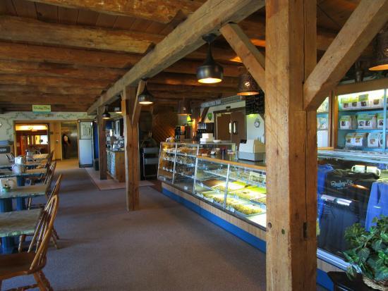 Grandma's Swedish Bakery at Rowleys Bay Resort: Bakery Interior