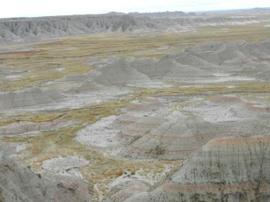 Parque Nacional Badlands, Dakota del Sur: Badlands