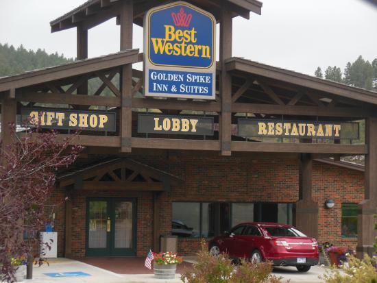 BEST WESTERN Golden Spike Inn & Suites: Front