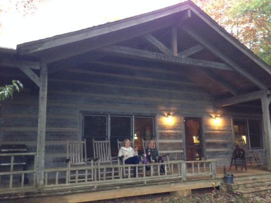 Springmaid Mountain: front porch with friends