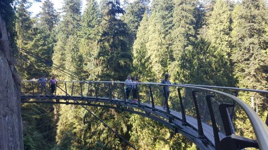 نورث فانكوفر, كندا: the cliffedge walk