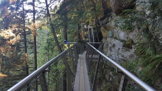 نورث فانكوفر, كندا: the walkway