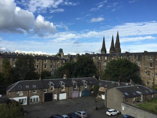 View outside my window picture of tune hotel haymarket for 7 clifton terrace haymarket edinburgh eh12 5dr
