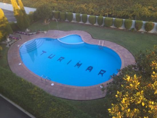 Turimar Hotel: Piscina del hotel Turimar en sanxexo