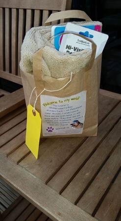 Powfoot, UK: Doggy bag