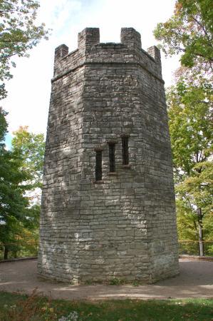 """Hills and Dales MetroPark: """"Frankenstein's Castle"""""""
