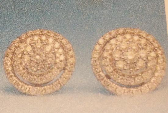 Imperial Jewelers: Custom Halo Earrings