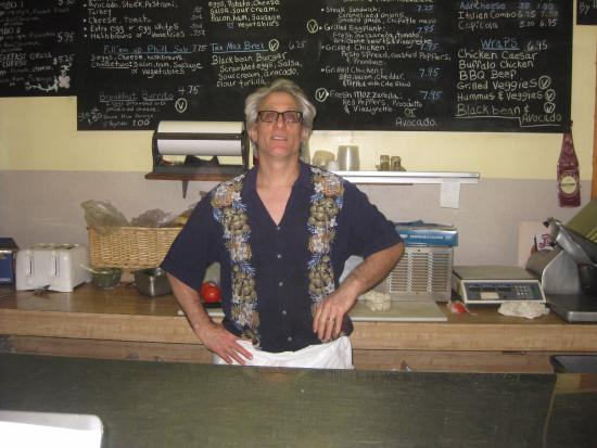 Your Host, Tommy C - Picture of Tommy C's Deli, New Paltz