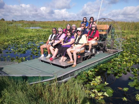 One Of Our 3 Full Boats Picture Of Florida Cracker Airboat