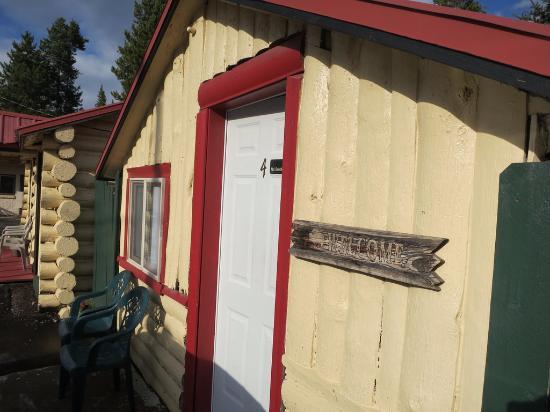 Hadley's Motel: Cozy little cabin