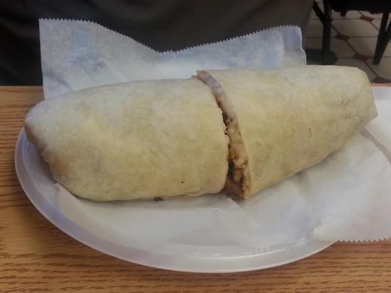 El Taco Loco: Steak Burrito