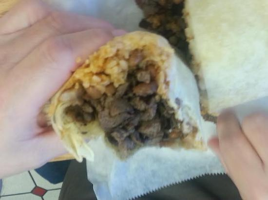 El Taco Loco: Burrito..packed with goodness!