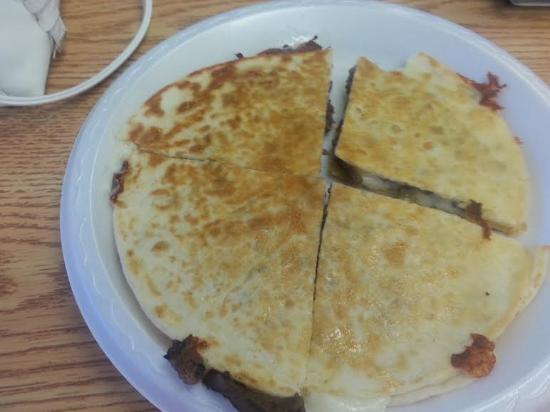 El Taco Loco: Whole Quesadilla