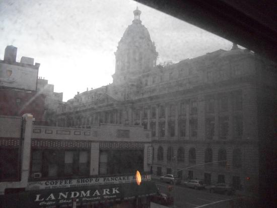 Solita Soho Hotel: View from my window. Room was on the third floor.