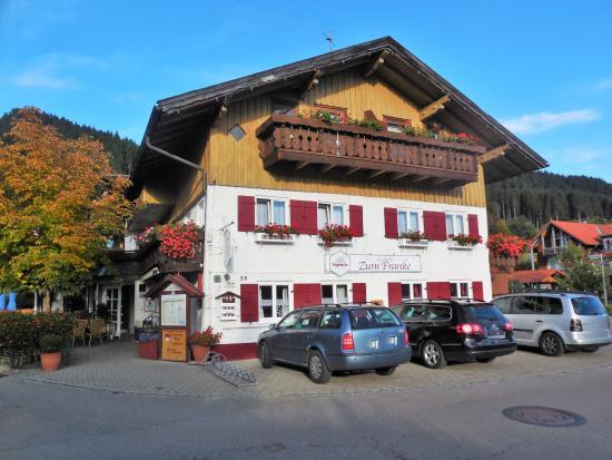 Landhotel Zum Franke : Blick auf das Hotel