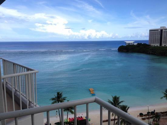 The Westin Resort Guam: 客房陽台遠眺杜夢灣
