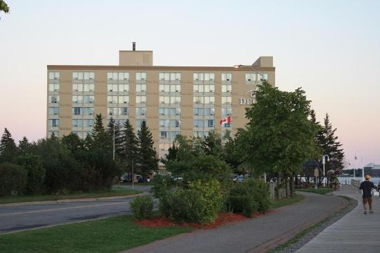 Delta Hotels By Marriott Sault Ste Marie Waterfront Hotel From The Riverfront