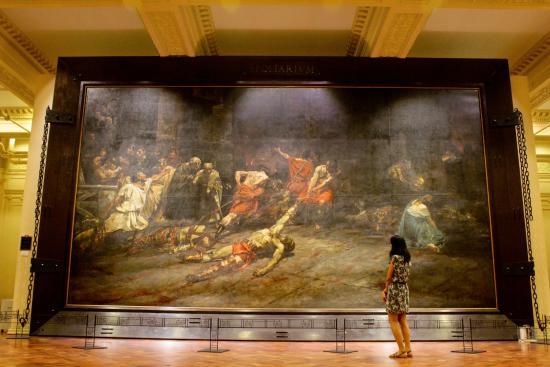 D Art Exhibition Ipoh : The spolarium picture of national museum manila