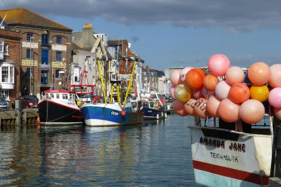 Working boats in Weymouth harbour