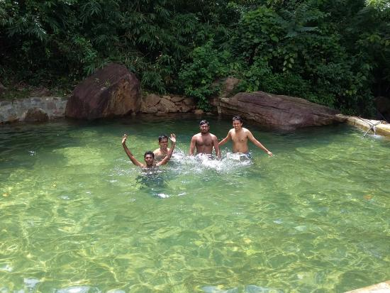 At the natural swimming pool of tappers village estate - Bungalows with swimming pool in sri lanka ...
