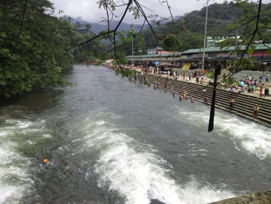 Kuttanad, Indien: River Pampa