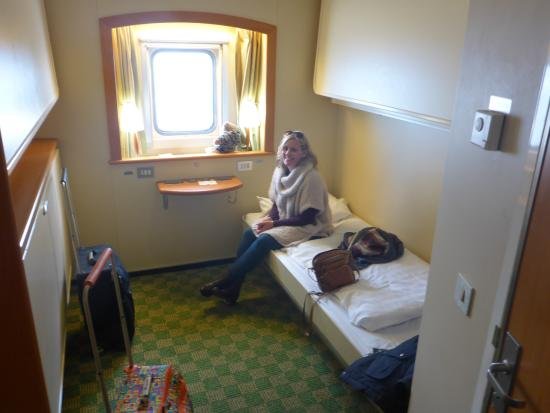 Club room bed is so comfy picture of p o ferries day for P o cruise bedrooms