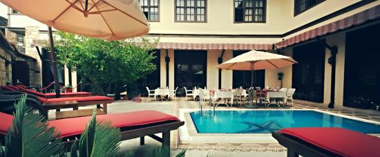 Eski Masal Hotel & Restaurant: Pool Area