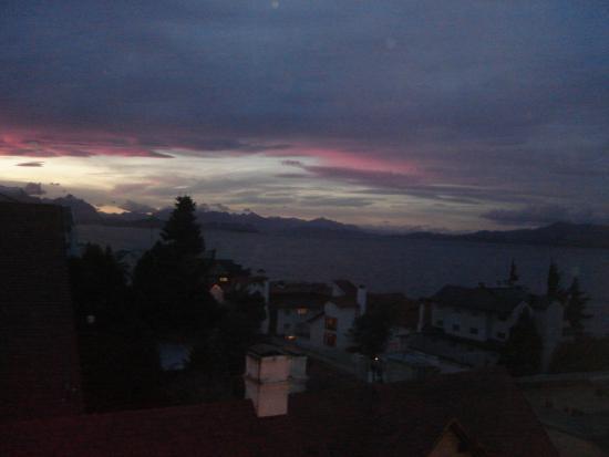 Hotel Sol Bariloche : vista atardecer
