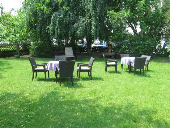 Hotel Filser: Garten