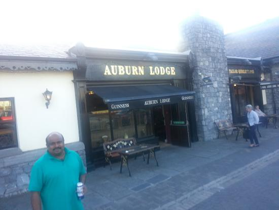Auburn Lodge Hotel & Leisure Centre: Infront of the hotel