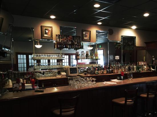 Chef Roy's Frog City Cafe: The ample bar