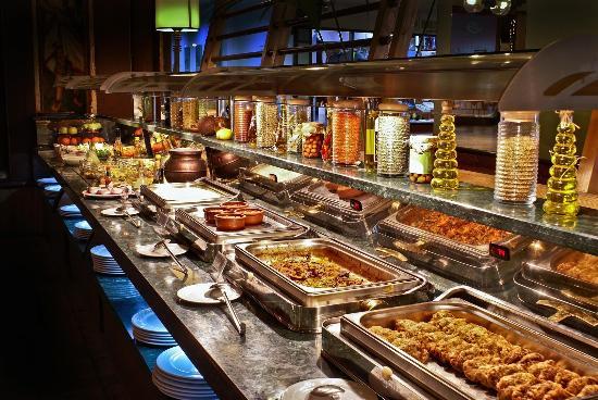 Kebabsville : buffet area