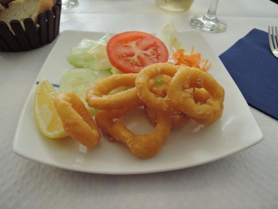 El Barril Restaurante : Кольца кальмаров