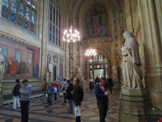 Houses Of Parliament: St Stephenu0027s Hall Interior