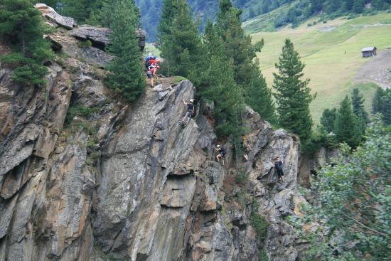 Klettersteig Obergurgl : Klettersteig in obergurgl bild von hotel alpenaussicht