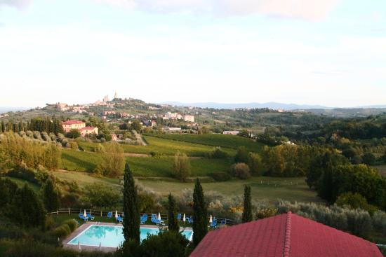 Hotel Villa Ducci: from our room