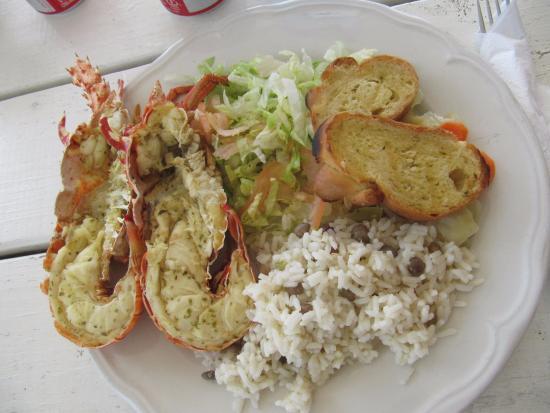 Codrington, Barbuda: Aragosta