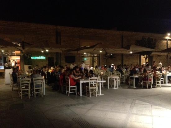 Restaurant Kitchen Pass kitchen pass inside - picture of karatello restaurant, limassol
