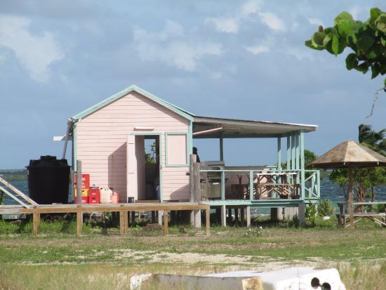 Codrington, Barbuda: Ristorantino