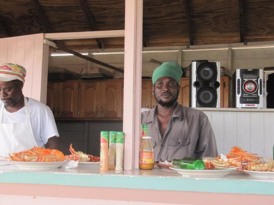 Codrington, Barbuda: Chef