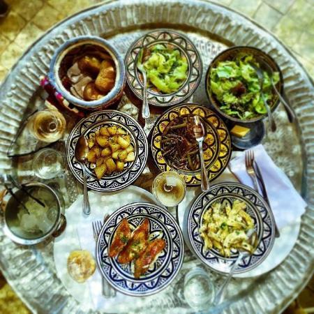 Foutour & Sarir Riad: Riad foutour sarir restaurant