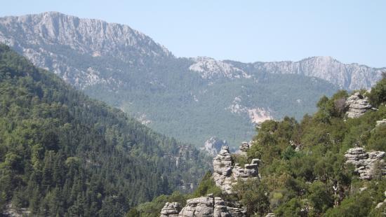 Taurus Mountains: The View