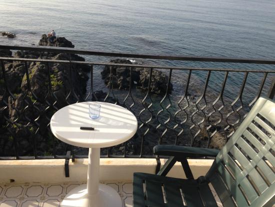 Hotel Orpheus: Балкон  номера