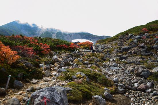 Chubu, اليابان: 長野県側の紅葉#3