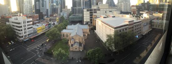 Somerset on Elizabeth, Melbourne: View from our Apartment - 10th Floor!