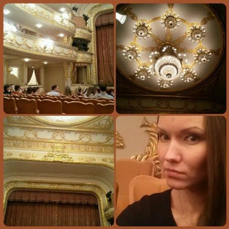 Екатеринбургский государственный академический театр оперы и балета: Интерьер