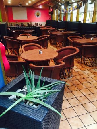 Maya Mexican Grill and Bar: We offer authentic Mexican food with great atmosphere.