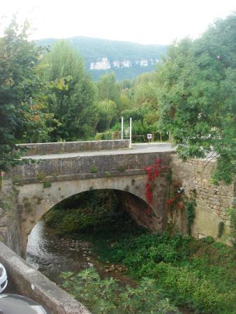 Riviere-sur-Tarn, ฝรั่งเศส: zicht van balkon