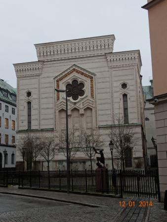 The Great Synagogue of Stockholm: Фасад